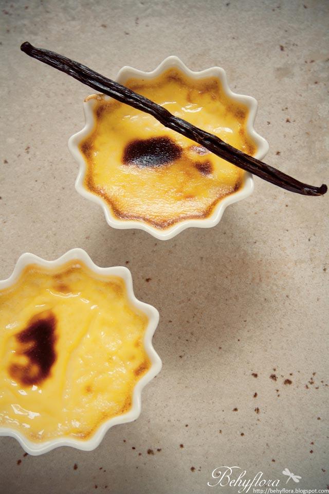 Gebackener Vanillepudding ohne Puddingpulver