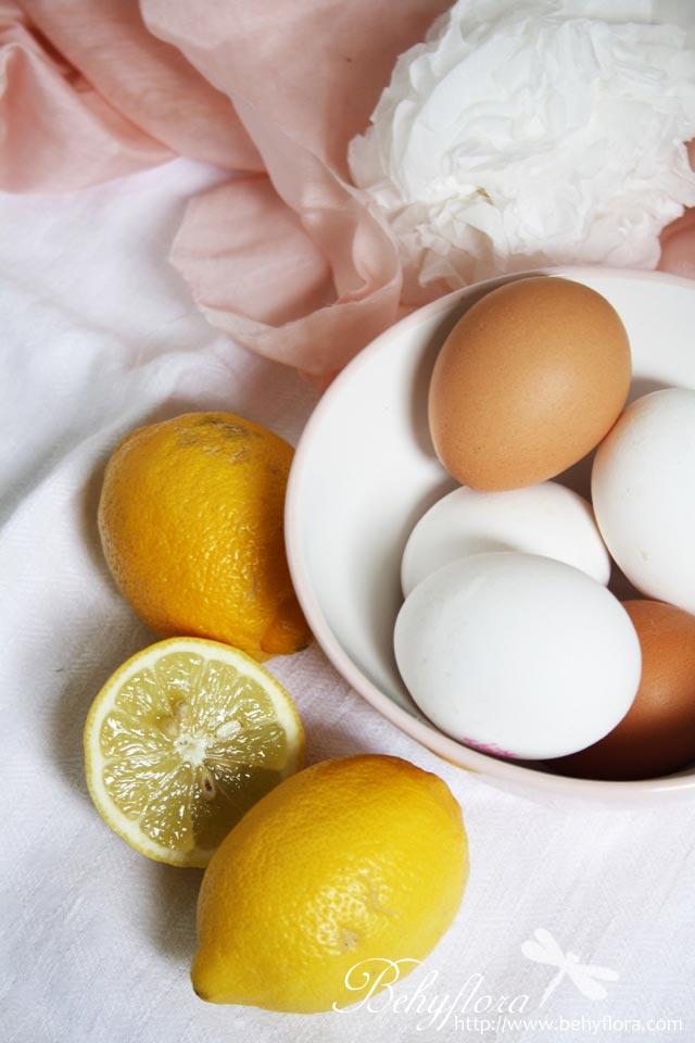 Eier für Lemon Curd